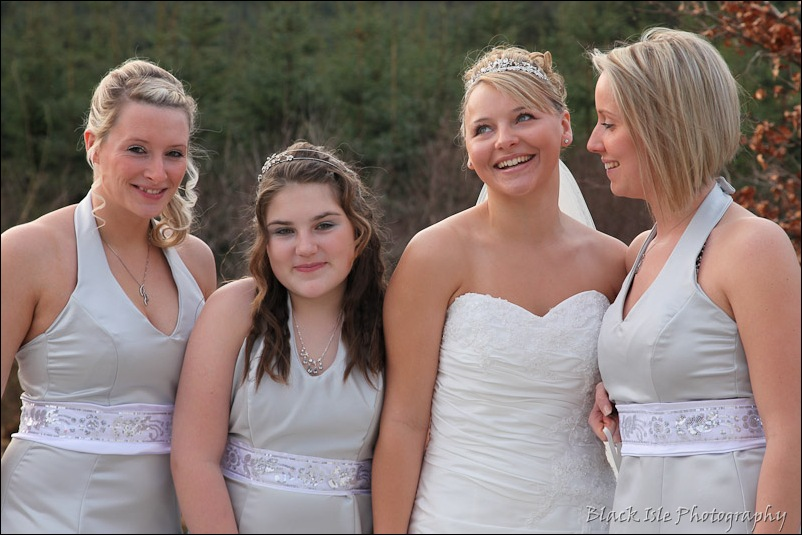 Wedding photograph Eilean Donan Castle-10