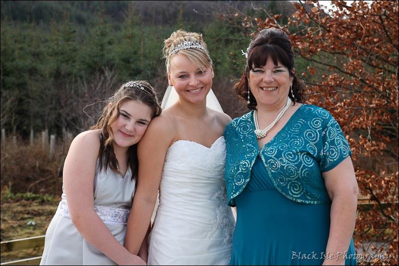 Wedding photograph Eilean Donan Castle-11