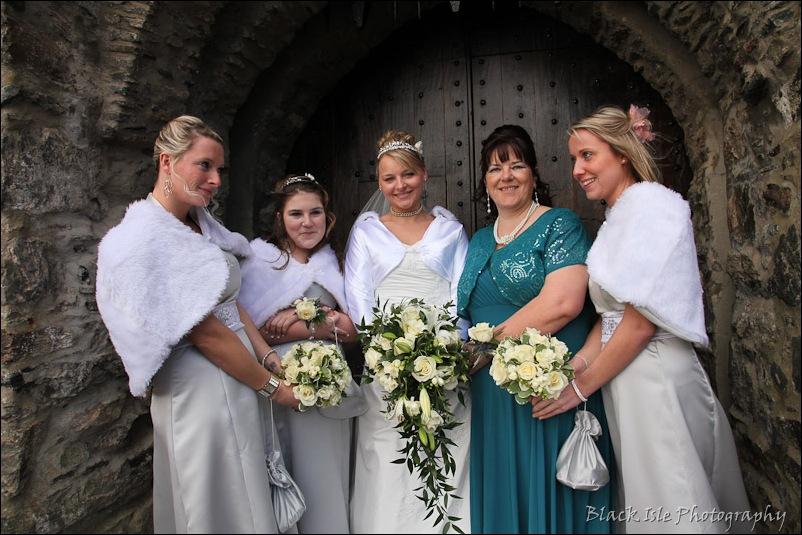 Wedding photograph Eilean Donan Castle-17