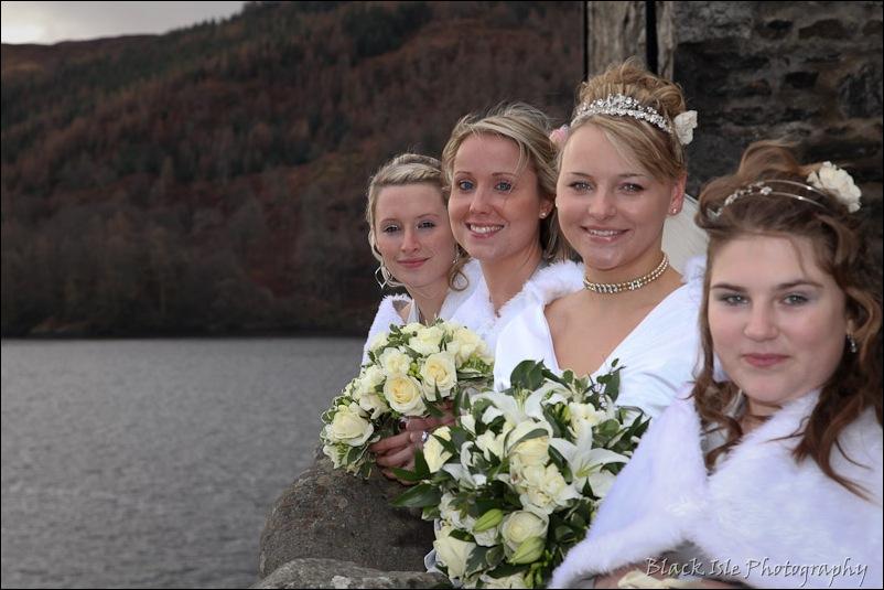Wedding photograph Eilean Donan Castle-18