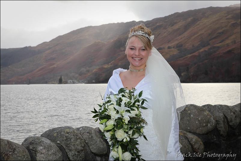 Wedding photograph Eilean Donan Castle-19