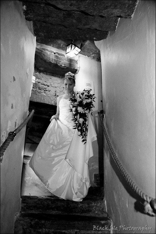 Wedding photograph Eilean Donan Castle-23