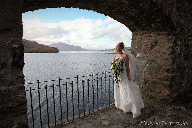 Wedding photography Eilean Donan Castle-25