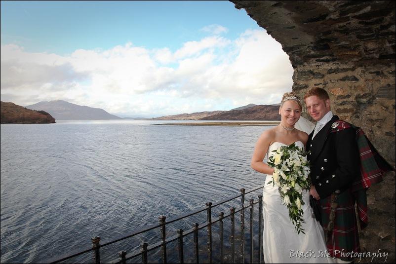Wedding photography Eilean Donan Castle-26