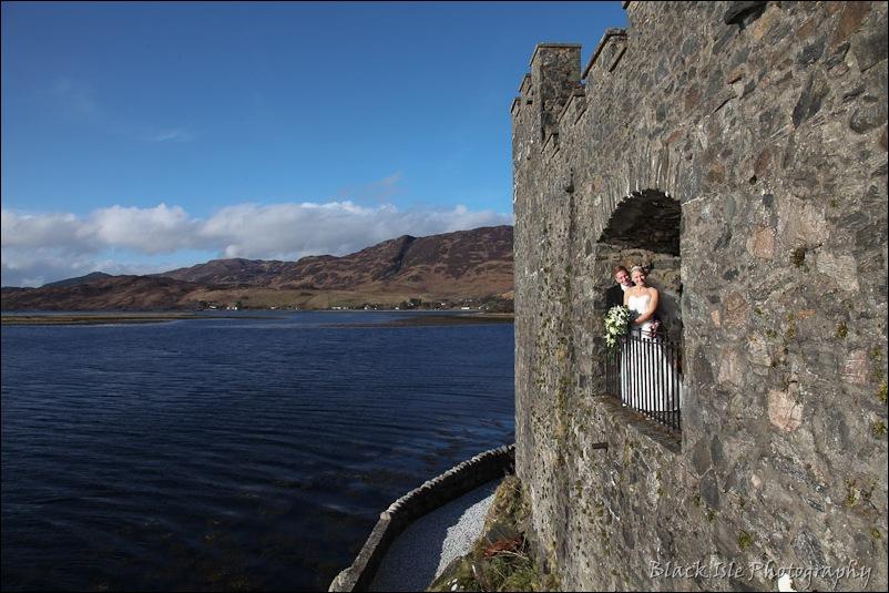 Wedding photography Eilean Donan Castle-27