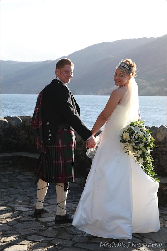 Wedding photography Eilean Donan Castle-28