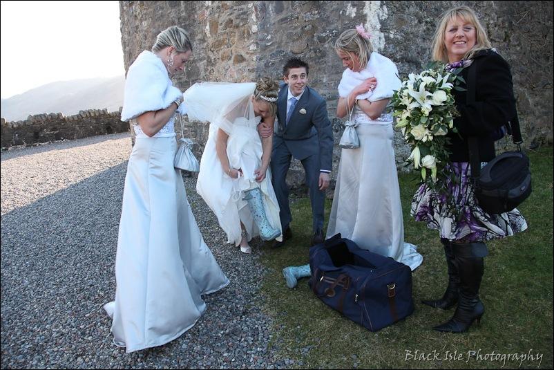 Wedding photography Eilean Donan Castle-29