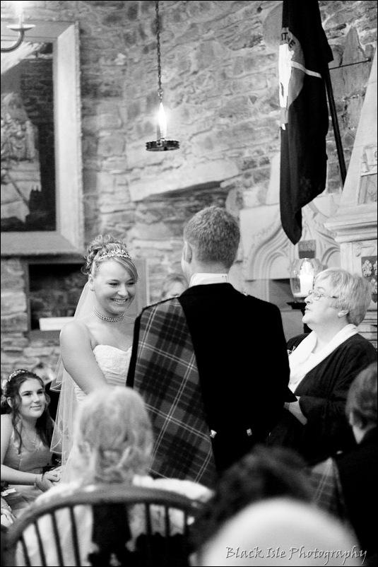 Wedding photograph Eilean Donan Castle-2