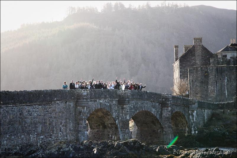 Wedding photography Eilean Donan Castle-30