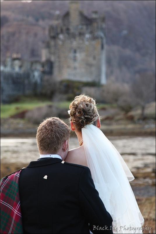 Wedding photography Eilean Donan Castle-34