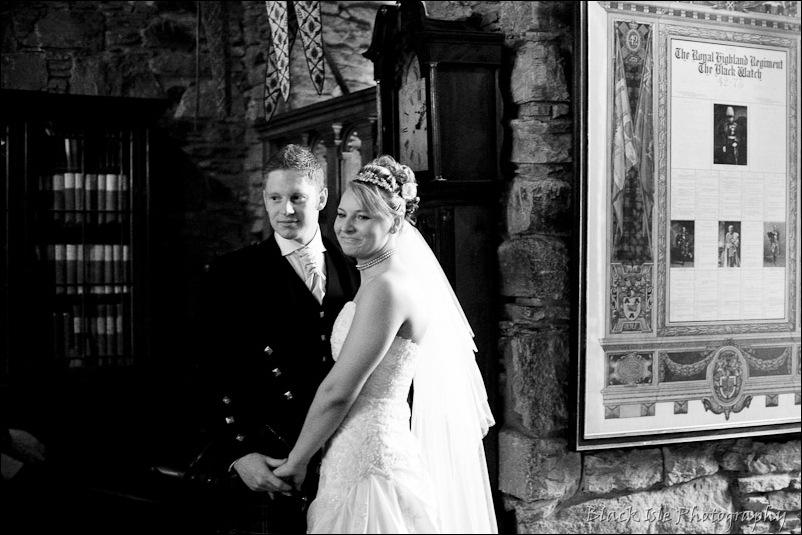 Wedding photograph Eilean Donan Castle-3
