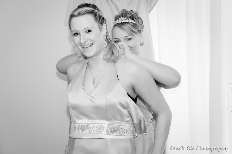 Wedding photograph Eilean Donan Castle-7