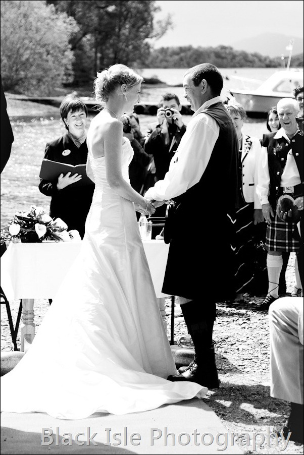 wedding photograph Loch Insh watersports Centre-14