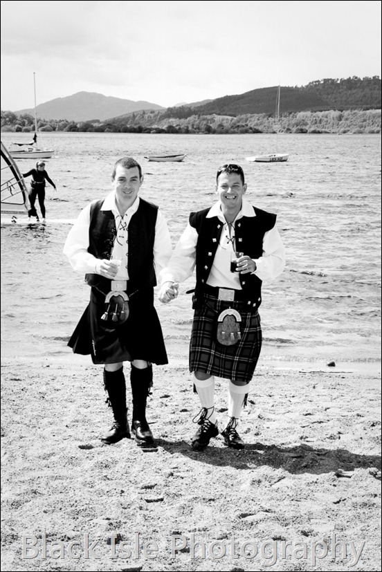 wedding photograph Loch Insh watersports Centre-1