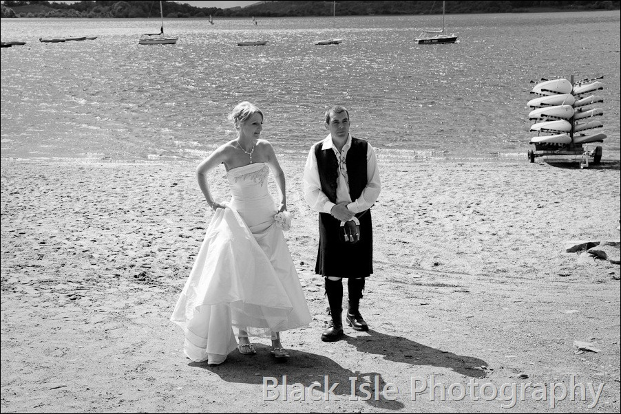 wedding photograph Loch Insh watersports Centre-24