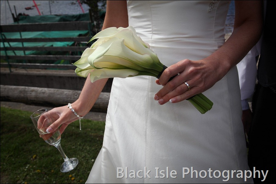 wedding photograph Loch Insh watersports Centre-27