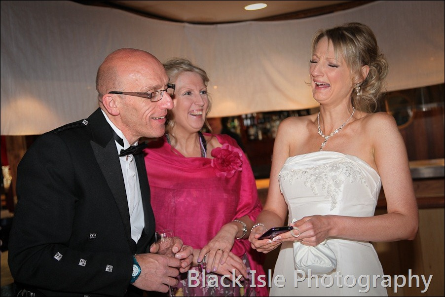 wedding photograph Loch Insh watersports Centre-29