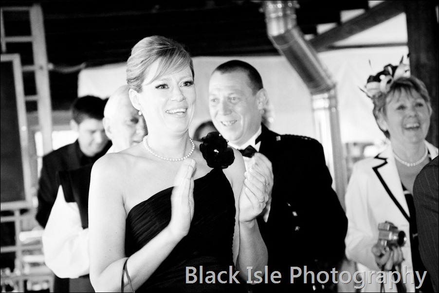 wedding photograph Loch Insh watersports Centre-32