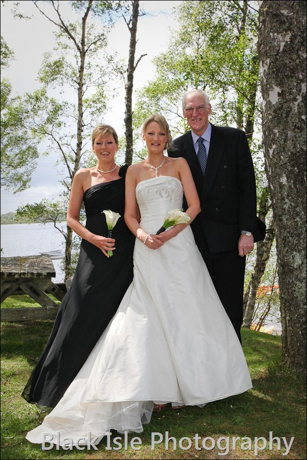 wedding photograph Loch Insh watersports Centre-5