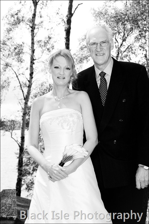 wedding photograph Loch Insh watersports Centre-6