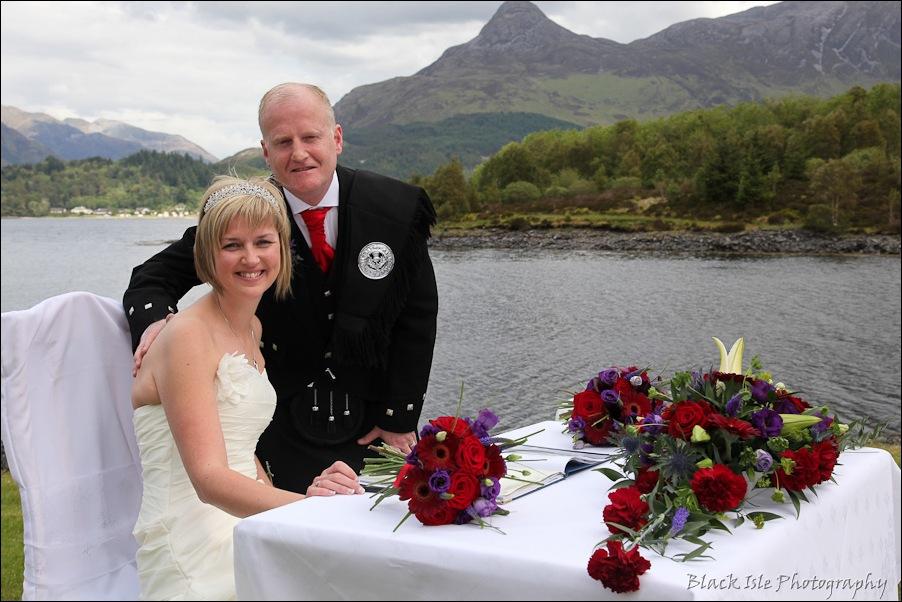 Wedding photography at the Isles of Glencoe Hotel, Highlands-10