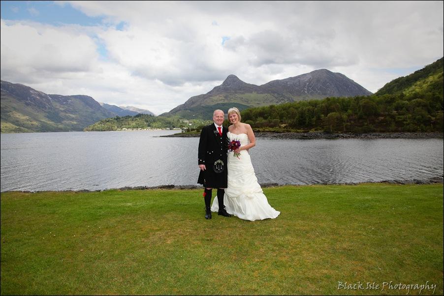 Wedding photography at the Isles of Glencoe Hotel, Highlands-11