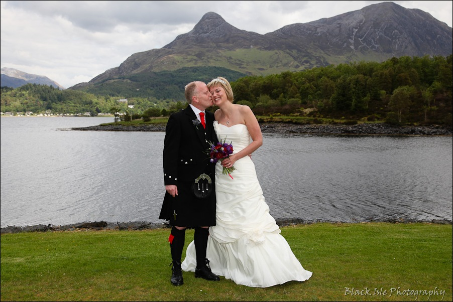 Wedding photography at the Isles of Glencoe Hotel, Highlands-12