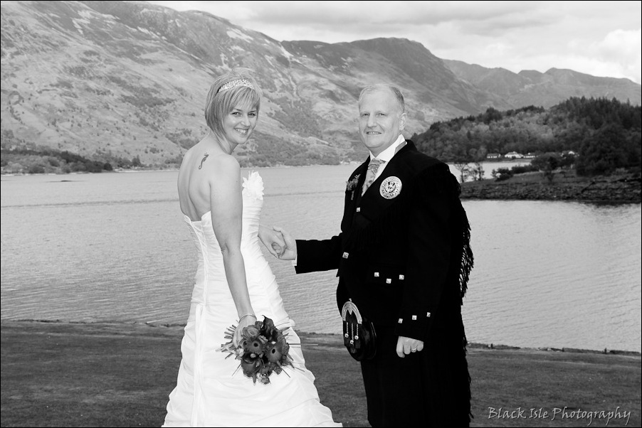 Wedding photography at the Isles of Glencoe Hotel, Highlands-13