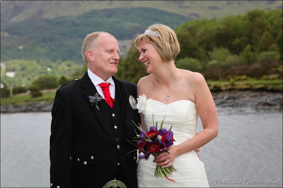 Wedding photography at the Isles of Glencoe Hotel, Highlands-14