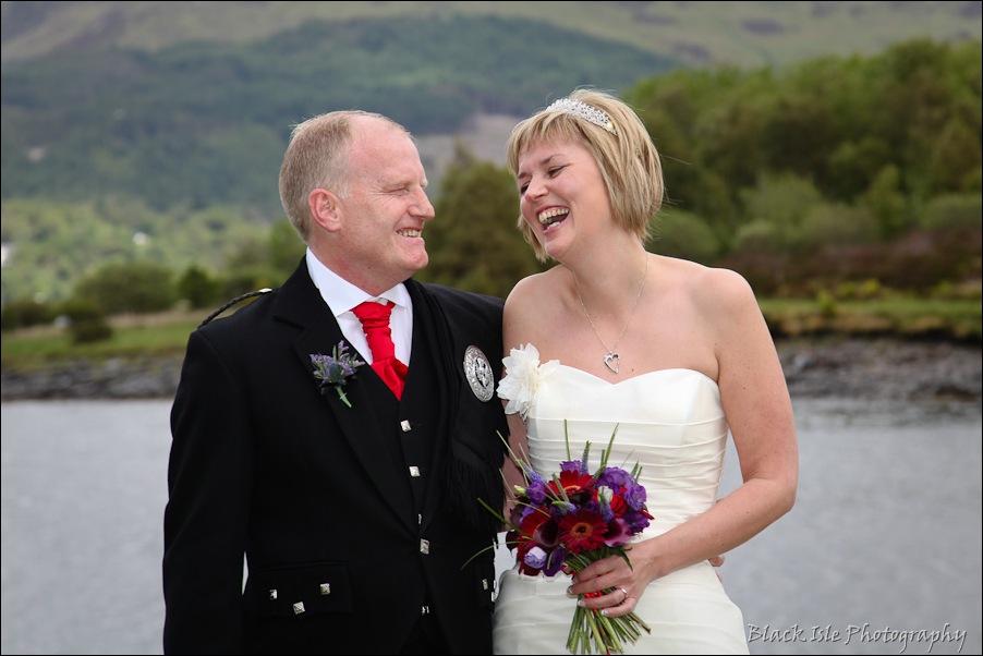 Wedding photography at the Isles of Glencoe Hotel, Highlands-15