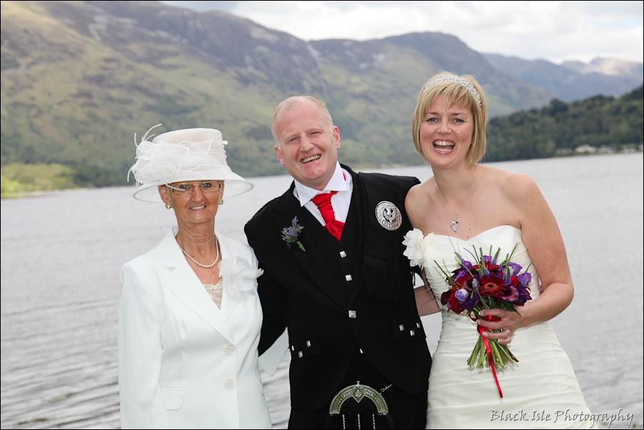 Wedding photography at the Isles of Glencoe Hotel, Highlands-18