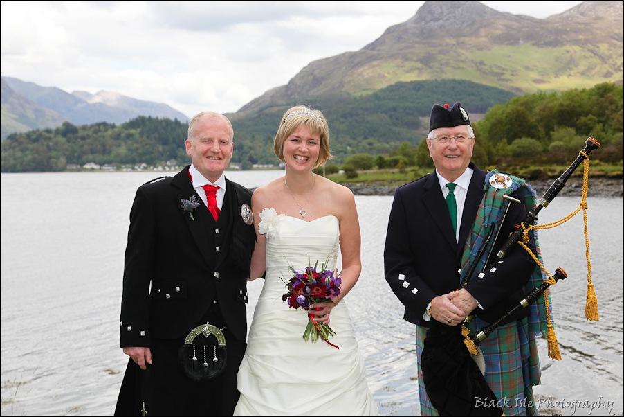 Wedding photography at the Isles of Glencoe Hotel, Highlands-19
