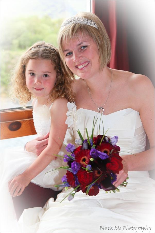 Wedding photography at the Isles of Glencoe Hotel, Highlands-1