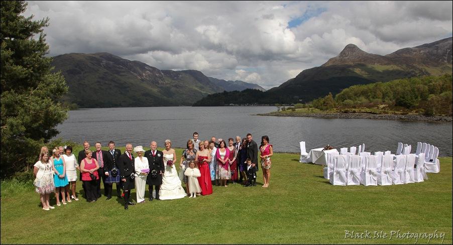Wedding photography at the Isles of Glencoe Hotel, Highlands-20