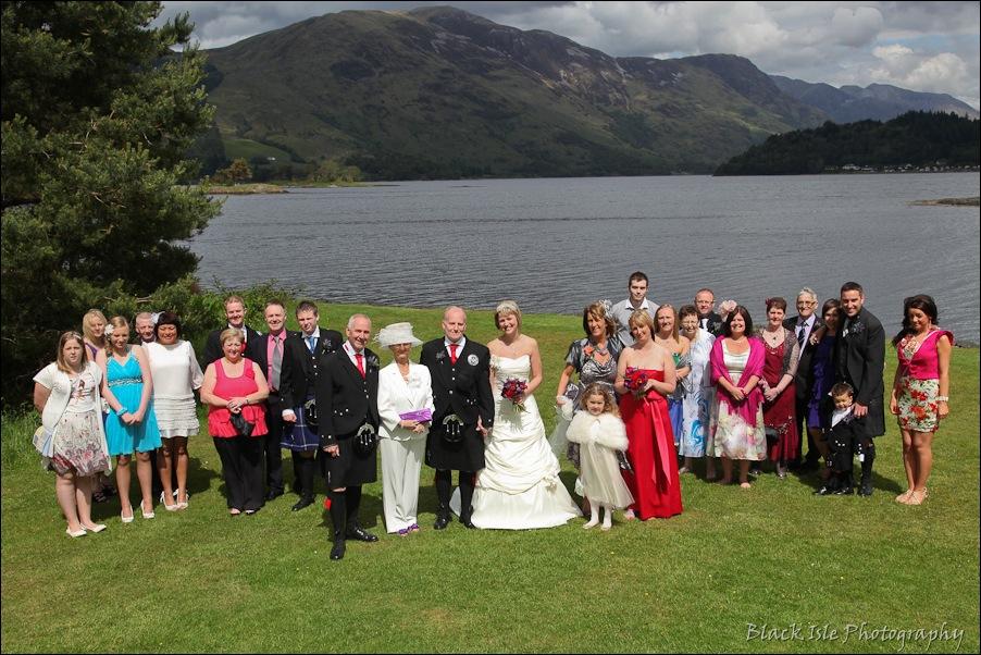 Wedding photography at the Isles of Glencoe Hotel, Highlands-21