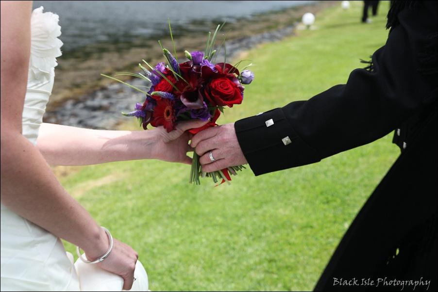 Wedding photography at the Isles of Glencoe Hotel, Highlands-22