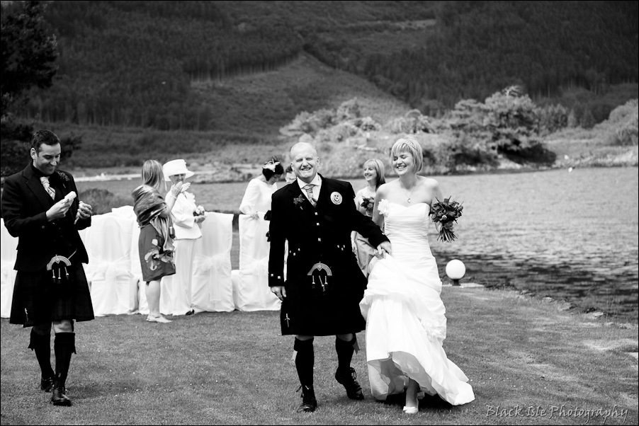 Wedding photography at the Isles of Glencoe Hotel, Highlands-23