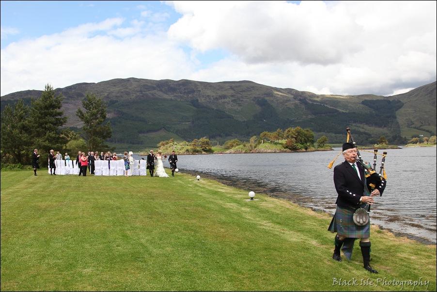 Wedding photography at the Isles of Glencoe Hotel, Highlands-24