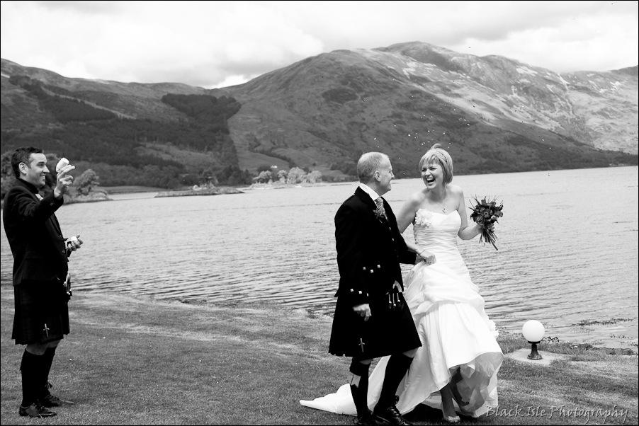 Wedding photography at the Isles of Glencoe Hotel, Highlands-25