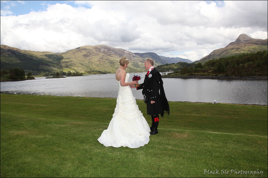 Wedding photography at the Isles of Glencoe Hotel, Highlands-28