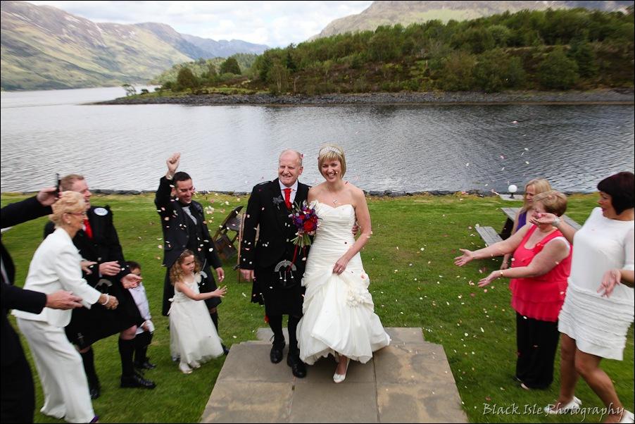 Wedding photography at the Isles of Glencoe Hotel, Highlands-29