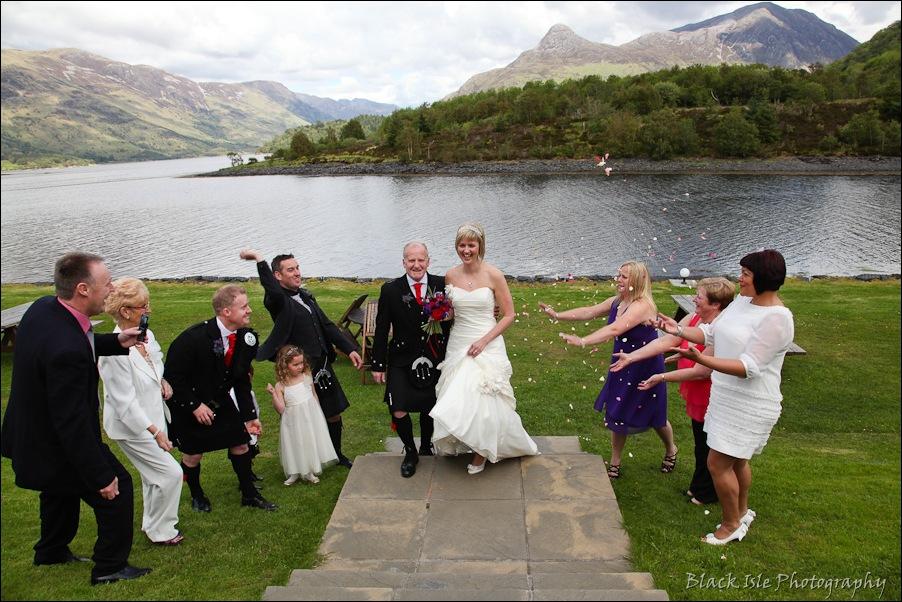 Wedding photography at the Isles of Glencoe Hotel, Highlands-30