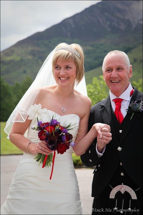 Wedding photography at the Isles of Glencoe Hotel, Highlands-3