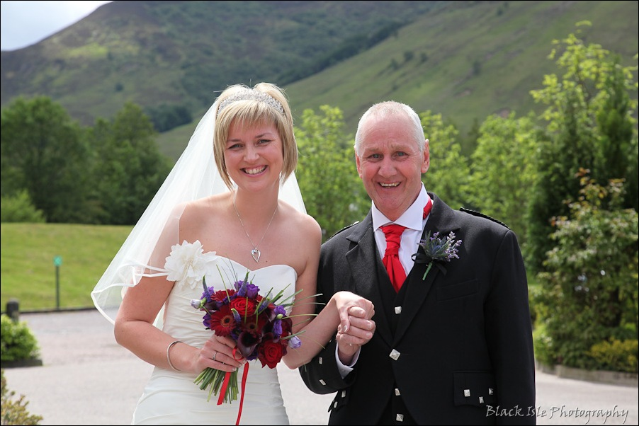 Wedding photography at the Isles of Glencoe Hotel, Highlands-4