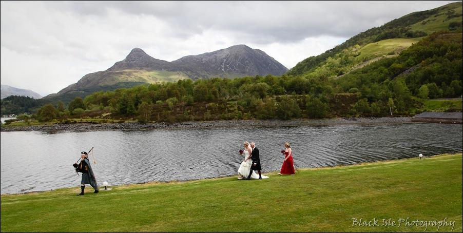 Wedding photography at the Isles of Glencoe Hotel, Highlands-5