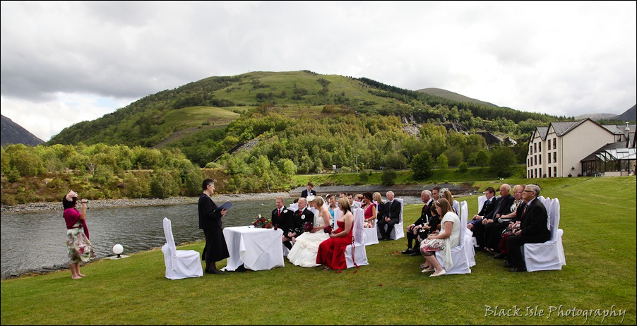 Wedding photography at the Isles of Glencoe Hotel, Highlands-6