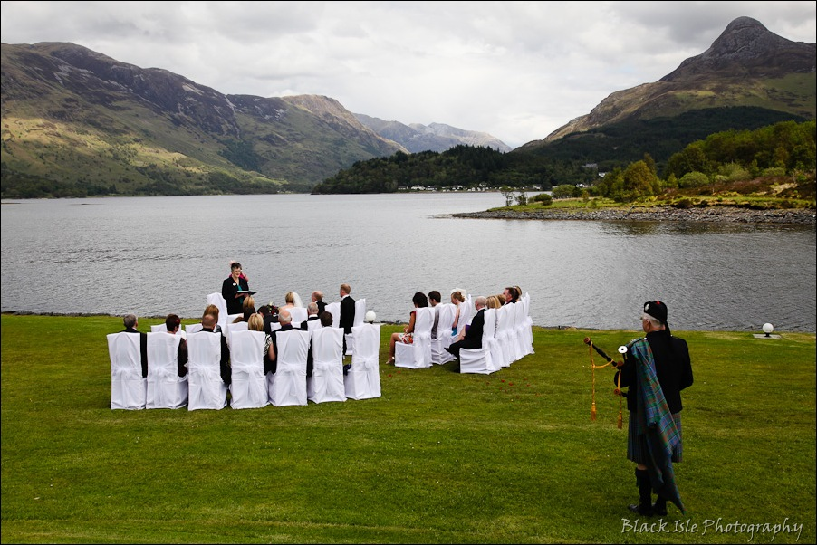Wedding photography at the Isles of Glencoe Hotel, Highlands-7