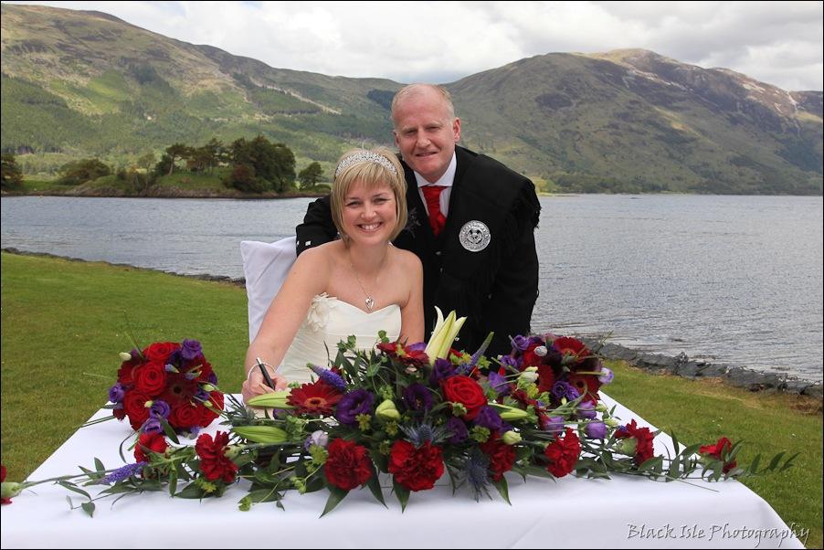 Wedding photography at the Isles of Glencoe Hotel, Highlands-8
