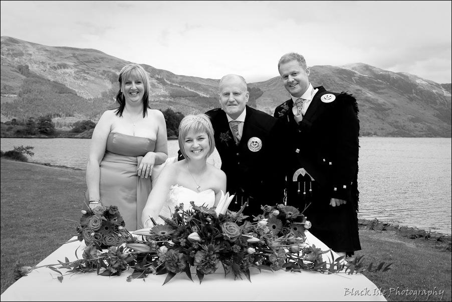 Wedding photography at the Isles of Glencoe Hotel, Highlands-9