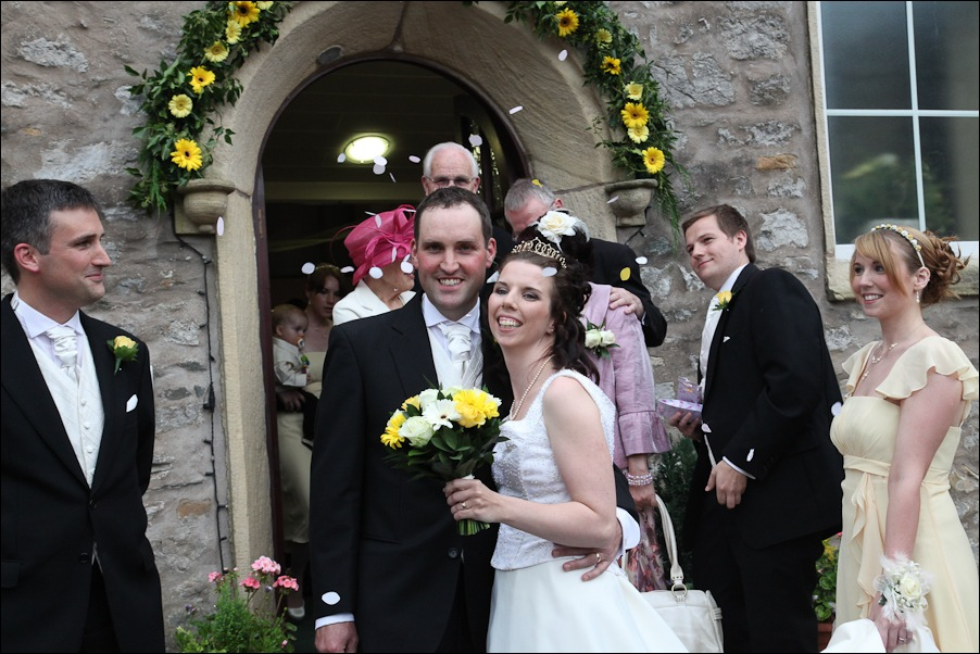 Ingleton methodist Church, wedding photographs-13
